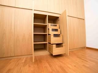 Falegnameria Grelli Kamar Tidur Modern Kayu Wood effect