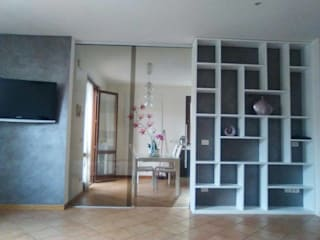 Modern living room by Falegnameria Grelli Modern