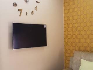 Minimalist Çalışma Odası Студия дизайна интерьера 'Золотое сечение' Minimalist