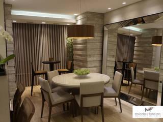 AP 701: Salas de jantar  por Machado Fontana | Arquitetura e Interiores