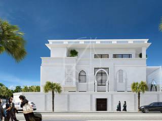 Family Villa Modern Exterior Design by Comelite Architecture, Structure and Interior Design Modern