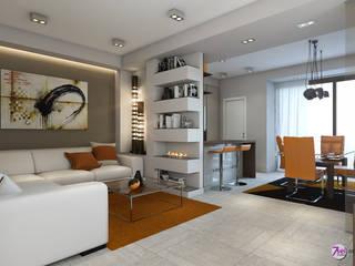 Living Room: Soggiorno in stile  di Studio 7sei