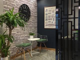 HEBART MİMARLIK DEKORASYON HZMT.LTD.ŞTİ. – Ofis dekorasyonu:  tarz Ofis Alanları