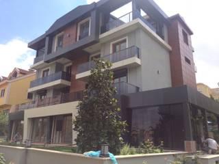 HEBART MİMARLIK DEKORASYON HZMT.LTD.ŞTİ. – Bahçeşehir villa - Öncesi ve sonrası:  tarz