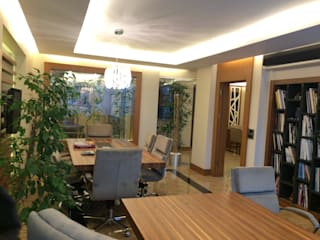 HEBART MİMARLIK DEKORASYON HZMT.LTD.ŞTİ. – Mimarlık Ofisi:  tarz Ofis Alanları