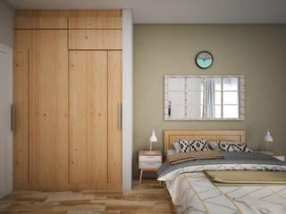 Kamar Tidur Tamu:   by Vivame Design
