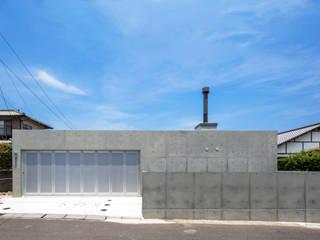 D-fancy/box(車庫兼プライベートルーム) オリジナルデザインの ガレージ・物置 の アトリエ間居 オリジナル