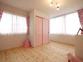 みゆう設計室 Scandinavian style nursery/kids room
