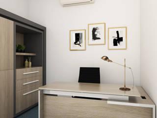 Admin Office by KC INTERIORS Modern