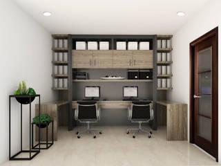 Admin Office by KC INTERIORS Minimalist