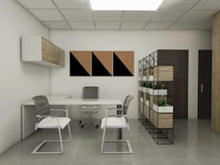 Company Office by KC INTERIORS