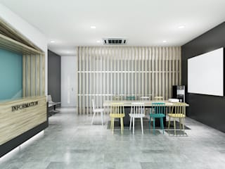Clinic Office by KCV INTERIORS