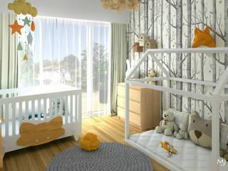 MJ Intérieurs Baby room Wood Grey