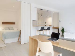 Apartamento Riberas: Salones de estilo  de ILIA ESTUDIO
