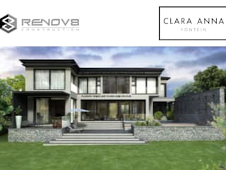 Artists Rendering - House JM, Clara Anna Fontein:   by Renov8 CONSTRUCTION