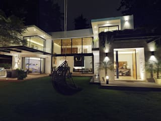 Fachada:  de estilo  por Area Virtual