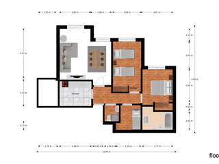 Casa dos Abraços Espaços comerciais modernos por Decodesign Moderno