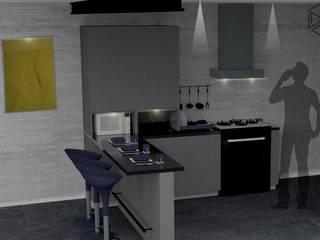 Proyecto Cazares:  de estilo industrial por M.A.P studio, Industrial
