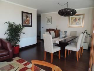 Asesoría de Interiorismos para Departamento en Reñaca, Viña del Mar por Kaa Interior Comedores de estilo clásico de Kaa Interior | Arquitectura de Interior | Santiago Clásico