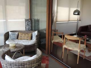 Balcon, Veranda & Terrasse classiques par Kaa Interior | Arquitectura de Interior | Santiago Classique