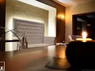 Habilitación de Bar Lounge Le Don por Kaa Interior: Bares y clubs de estilo  por Kaa Interior | Arquitectura de Interior | Santiago,