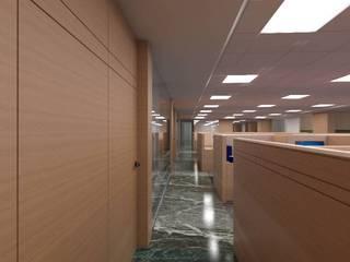 BLUEDART Modern study/office by smstudio Modern