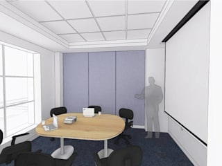 CAPITA Modern study/office by smstudio Modern