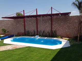 Piscinas de estilo moderno de Albercas Querétaro FORTEC Moderno
