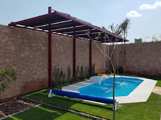 Moderne zwembaden van Albercas Querétaro FORTEC Modern