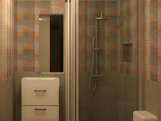 Modern Bathroom by Perfil Arquitectónico Modern