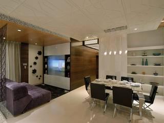 HEERA BLUE WATERS Modern living room by smstudio Modern