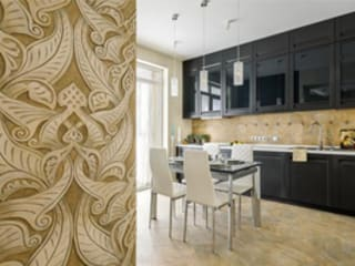 стилевое решение в рамках онлайн проекта: Кухни в . Автор – GM Style - дизайн интерьера онлайн