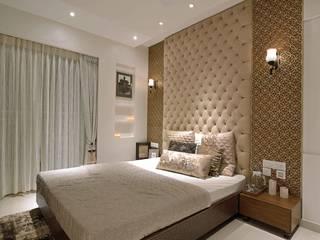 HEERA HIGH LIFE Modern style bedroom by smstudio Modern