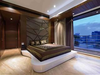 MADHUNIKETAN 10TH FLOOR Modern style bedroom by smstudio Modern