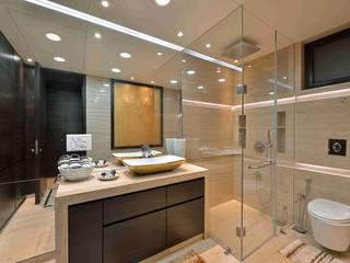 MADHUNIKETAN 10TH FLOOR Modern bathroom by smstudio Modern