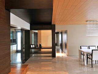 OZONE PENTHOUSE Modern living room by smstudio Modern