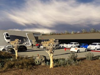 Audi Upington:   by FAME Projects,