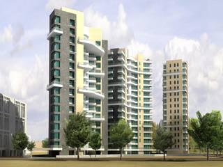 DHAVAL ORLEM Modern houses by smstudio Modern