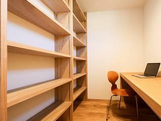 Study Room: STaD(株式会社鈴木貴博建築設計事務所)が手掛けた書斎です。
