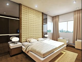 AVANTIKA Modern style bedroom by smstudio Modern