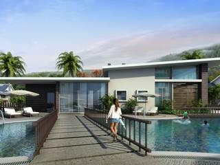 VIVEZA Modern houses by smstudio Modern