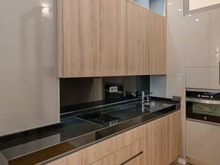 Reforma integral Loft Madrid Cocinas de estilo moderno de Arkin Moderno