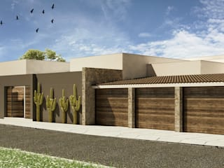 Single family home by Grupo PAAR Arquitectos