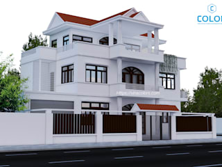 Thiết kế biệt thự phố bởi COLOR DECOR