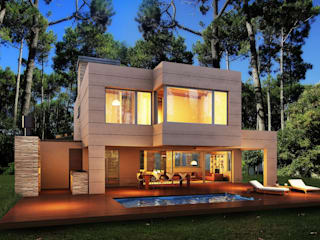 Vivienda unifamiliar: Casas de estilo  por Estudio Hugo Zawadzki - Arquitecto