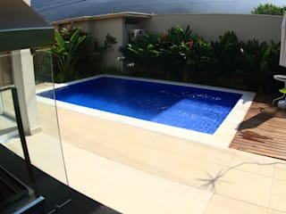 VN Arquitetura Garden Pool Tiles Blue