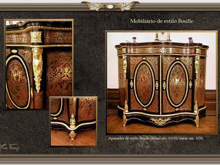 Aparador de estilo Boulle:   por Miguel Tomaz - Conservação e Restauro