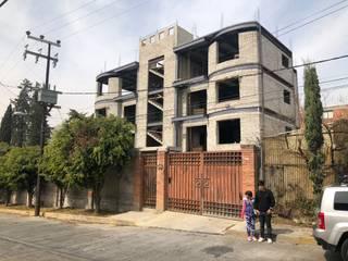 Departamentos Tabasco 32: Condominios de estilo  por Arq. Roberto Pacheco Glz