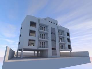 Departamentos Tabasco 32: Casas de estilo  por Arq. Roberto Pacheco Glz