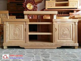 Kệ tivi gỗ: hiện đại  by Đồ gỗ nội thất Phố Vip, Hiện đại